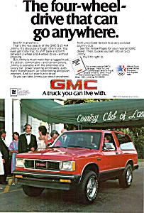 1984 GMC S 15 4 wheel drive Jimmy ad0775 (Image1)