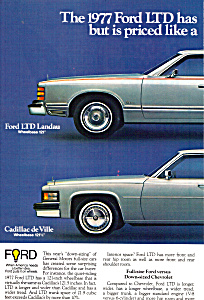 The 1977 Ford Ltd Landau