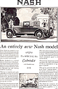 Nash Special Six Cabriolet with Rumble Seat ad0784 (Image1)