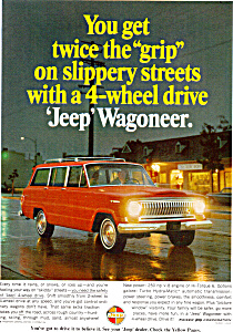 Jeep Wagoner 4 Wheel Drive Ad0789