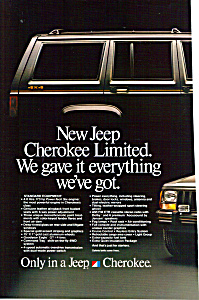 Jeep Cherokee Limited Ad0794