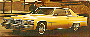 1977 Cadillac Advertisment Ad0796