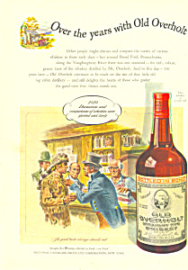 Old Overholt Rye Whiskey Ad