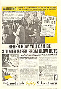 Goodrich Safety Silvertown Tires Ad adl0006 (Image1)