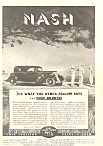 Nash 4-Door Sedan Ad 1934 (Image1)