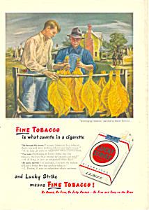 Lucky Strike Cigarettes Ad