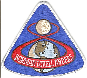 Apollo 8  NASA Space Patch (Image1)