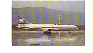 JAT Caravelle Airline Postcard apr0156 (Image1)