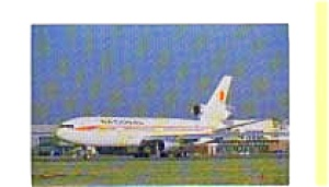 National Airlines  DC-10 Airline Postcard apr0359 (Image1)