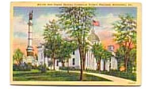 State Capitol Montgomery AL Postcard apr0552 (Image1)