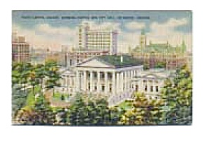 State Capitol Richmond VA Postcard apr0555 (Image1)