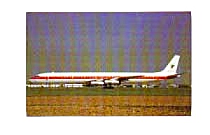 Eagle Air DC-8 Airline Postcard apr0954 (Image1)