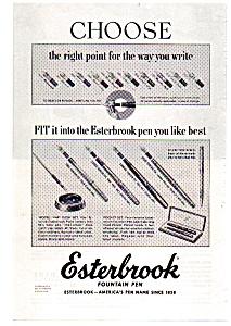 Esterbrook Pen 1952  Line (Image1)
