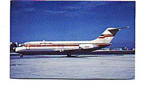 Air Florida DC-9 Airline Postcard apr2252 (Image1)