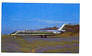 Evergreen DC-9 Airline Postcard apr2255 (Image1)