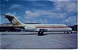 Continental DC-9 Airline Postcard apr2256 (Image1)