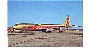 Ecuatoriana Jet Cargo 707 Airline Postcard apr2464 (Image1)