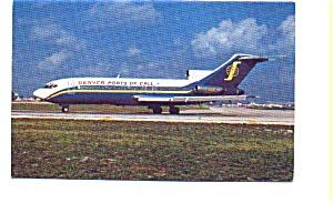 Denver Ports of Call 727 Airline Postcard apr2561 (Image1)