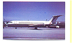 Florida  Express BAC-111 Airline Postcard apr2758 (Image1)