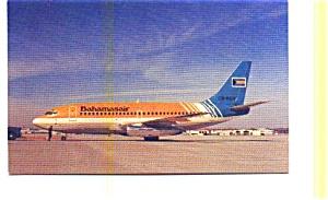 Bahamasair 737 Airline Postcard apr2760 (Image1)
