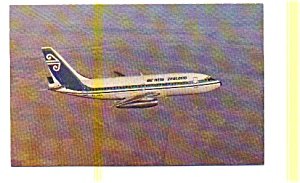Air New Zealand 737 Airline Postcard apr2763 (Image1)