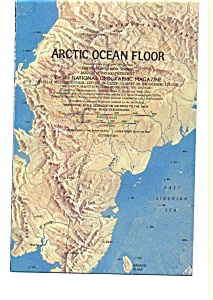 Artic Ocean Floor Map Oct 1971