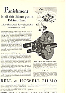 Bell and Howell Filmo Camera Ad (Image1)