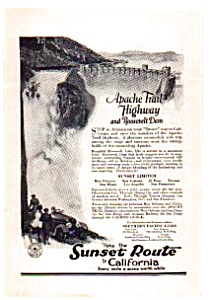 Southern Pacific Railroad Ad auc012301 1923 (Image1)