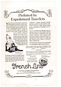 French Line Ad auc012306 1923 (Image1)
