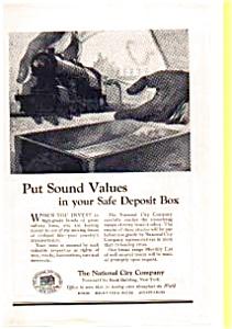 National City Railroad Bond Offers Ad auc012312 1923 (Image1)