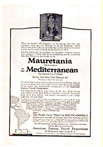 Mauretania Liner AD auc012315 1923 (Image1)