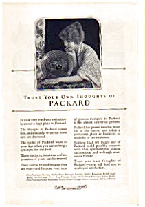 1923 Packard Automobile AD auc012316 (Image1)
