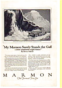 1923 Marmon Barney Oldfield Ad