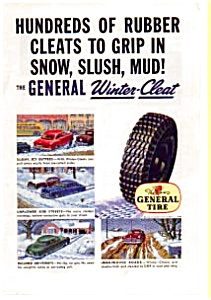 General Tire Winter Cleat Ad 1949 (Image1)