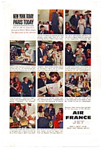 Air France Epicurean Of The Atlantic Ad Auc016101