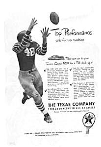 Texaco Top Performance Ad 1940s auc016111 (Image1)