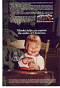 Minolta SR-T 102 Christmas Ad 1970's (Image1)