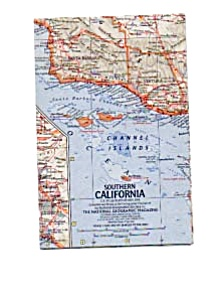 Southern California Map May 1966