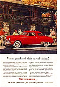 Studebaker Starlight Coupe Ad 1948