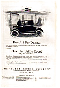 1923 Chevrolet Utility Coupe Ad