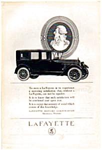 1923 LaFayette Motor Car Ad auc022312 (Image1)
