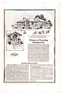 American Face Brick Homes Plans Ad (Image1)