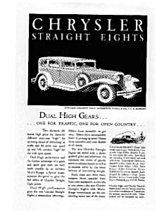 Chrysler Straight Eights Ad Feb 1931 (Image1)
