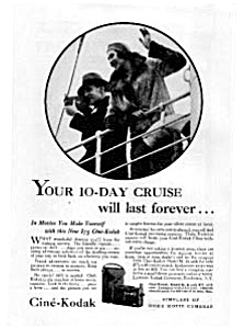 Cine-Kodak Movie Camera Ad Feb 1931 (Image1)