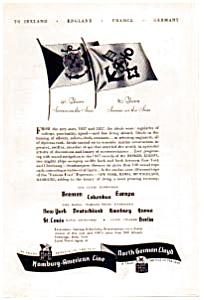 Hamburg American Line Ad 1937 (Image1)