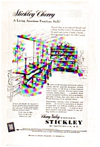 Stickley Cherry Valley Furniture Ad (Image1)