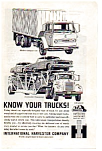International Harvester Know Your Trucks Ad auc023723 (Image1)