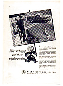 Bell Telephone Post War Ad Auc024601 1946
