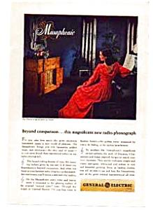 GE Musaphonic Radio-Phonograph Ad (Image1)