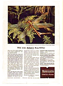 Monsanto Insecticide Products Ad Auc024608